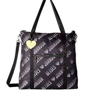 NWT Betsey Johnson® Sporty Logo Tote